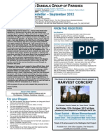 Parish Newsletter - September 2012