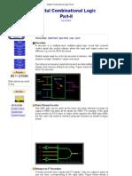 Digital Combinational Logic Part-II
