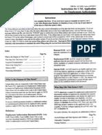 I-765 Instruction Forms
