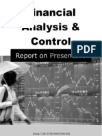 Financial Statement Analysis Control