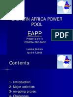 East Africa Power Pool Presentation