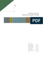 Cramer Ever Complet Set of Textiles