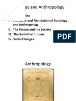 Introduction to Sociology and Anthropology
