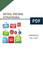 Retail Prcing Strategies