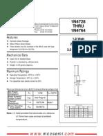 1N4733 Data Sheet