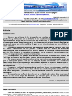 Boletin Nº 31 de la Comisión Exiliados Argentinos en Madrid - CEAM