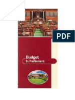 Budget in Parliament of India