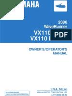 Yamaha Vx110 Manual