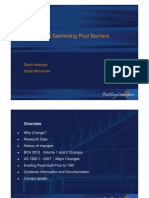 BCA 2010 Changes to Swimming Pool Barriers