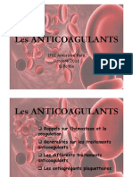 Anticoagulants 2011