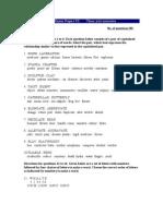 CAT Exam Paper VI