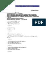 Cat Exam Paper Viii