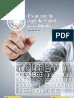 Propuesta de Agenda Digital para España