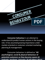 Consumer Behaviour Ppt