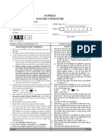 Ugc Net English Literature Solved Paper II j3011