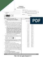 Ugc Net Management Solved Paper II j1711