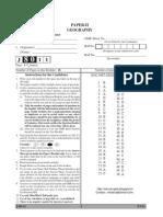 Ugc Net Geography Solved Paper II j8011