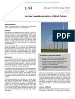 Fully Coupled Fluid-Structure Interaction Analysis of Wind Turbine Rotor Blades 2012