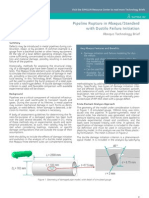 Pipeline Rupture in Abaqus/Standard with Ductile Failure Initiation 2012