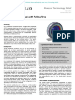 Full Vehicle NVH Analysis with Rolling Tires 2011