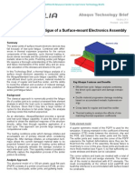 Low-cycle Thermal Fatigue of a Surface-mount Electronics Assembly 2009