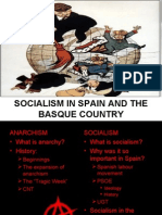 Socialism in Spain and the Basque Country
