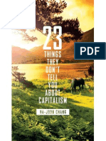 23 Things They Don't Tell You About Capitalism [2010]