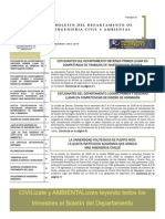 Boletín del Departamento de Ingeniería Civil y Ambiental – Invierno 2006