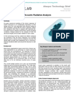 Shock Response and Acoustic Radiation Analysis 2004