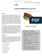 Dynamic Design Analysis Method (DDAM) with Abaqus 2005