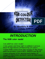 Rgb Detector Ppt Final
