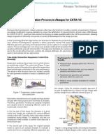 Iterative Design Evaluation Process in Abaqus for CATIA V5 2008