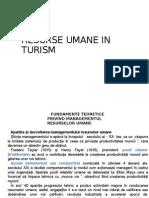 Resurse Umane in Turism