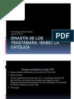 Unidad 7 Dinastía de los Trastámara - Santiago Bedoya Molina