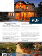 Luxury Villa Lale in Turkey Brochure