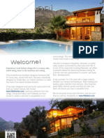 Luxury Villa Anni in Turkey Brochure