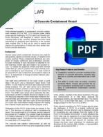 Failure of a Prestressed Concrete Containment Vessel 2003
