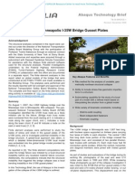 Failure Analysis of Minneapolis I-35W Bridge Gusset Plates 2009