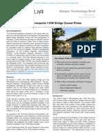 Failure Analysis of Minneapolis I-35W Bridge Gusset Plates 2009