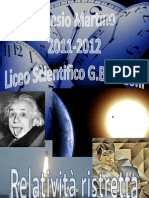 Tesina relatività ristretta