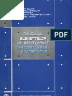 39835293 Calculul Elementelor Din Beton Armat T Clipii 2007