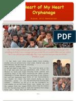 HOMH - Website Newletter - August 2012