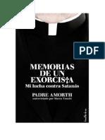Memorias de Un Exorcista - Entrevista al Padre Amorth por Marco Tosatti