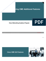 6 Configuring CME Additional Features
