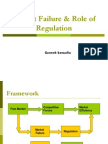 Market Failure & Role of Regulation (1)