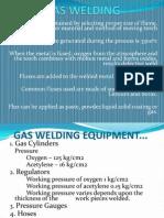 Gas Welding Ppt.