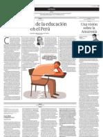 Problemas de la educación en el Perú