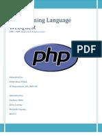 WebQuest PHP