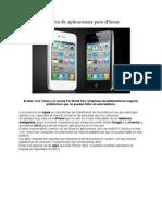 Top Ten de Aplicaciones Para iPhone