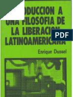 Introducción a una filosofía de la liberación latinoamericana